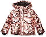 Jessica Simpson Girls' Little Warm Coat with Asymetrical Closure, Winter Pink, 6X