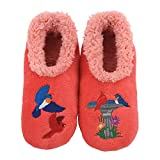 Snoozies Pairables Womens Slippers - House Slippers - Bird Bath - X-Large