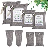 Nature Fresh Charcoal Air Purifying Bag 8 Pack, Activated Bamboo Charcoal Odor Absorber,Odor Eliminators for Home, Pets, Car