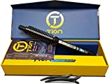 Tion Brush Iron Pro V1 1 inch Curling Iron with Tion Silicone Hair Clips