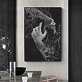 Kit completo de pintura de diamantes 5D Bricolaje diamond painting kits Rhinestone bordado cuadros de punto de cruz arte manualidades para decoración del hogar Regalo Mano abstracta Square 80x120cm