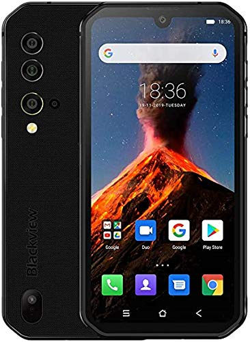 Blackview BV9900 Proサーマルカメラ携帯電話Helio P90オクタコア8GB + 128GB IP68頑丈なスマートフォン48MPクワッドリアカメラ(グレー)