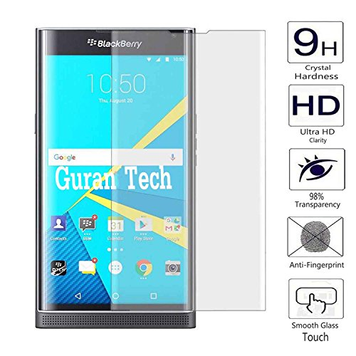 Guran 3D Full Coverage Farbe Displayschutz Glasfolie für BlackBerry Priv Smartphone Screen Bildschirm Hartglas Schutzfolie Film…