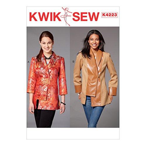 KWIK-SEW PATTERNS Kwik Misses' Shawl Collar Jackets Sewing Pattern, XS-S-M-L-XL