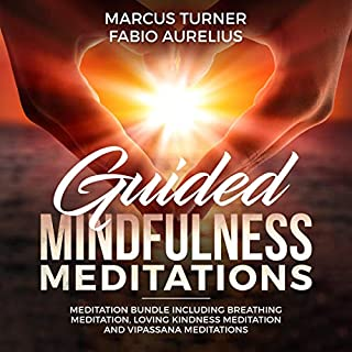 Guided Mindfulness Meditation Meditation Bundle audiobook cover art