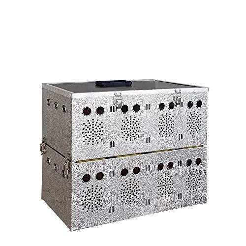 Breker Aluminium Transportkorb 8 Abteilungen