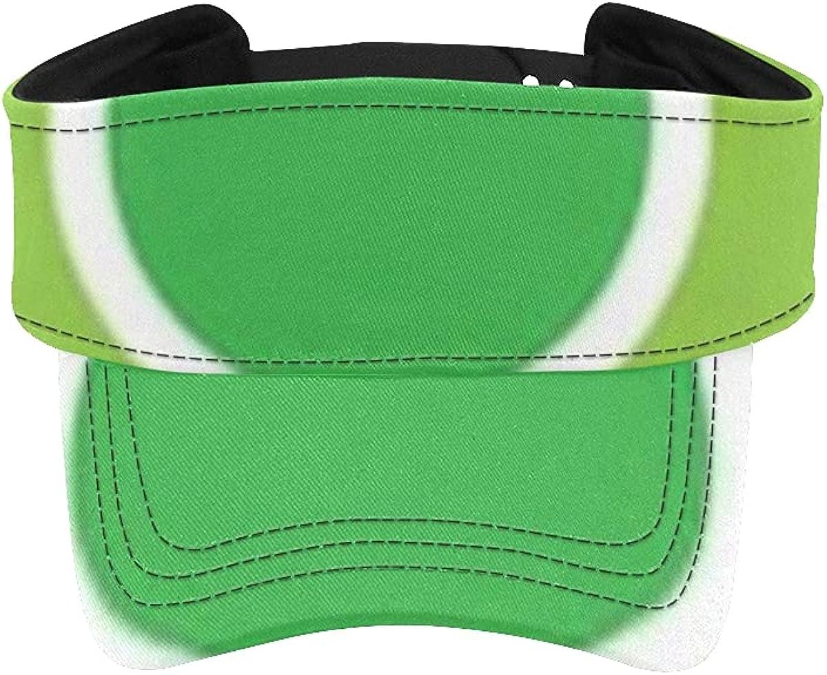 Sun Visor Hat Super sale Big Green Men Denver Mall Dots for Vector Adjustable