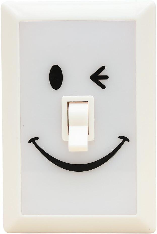 Time Concept Smile Soft LED Switch Light - Vanilla - Bedroom Decor Lamp, Home Bedside Light