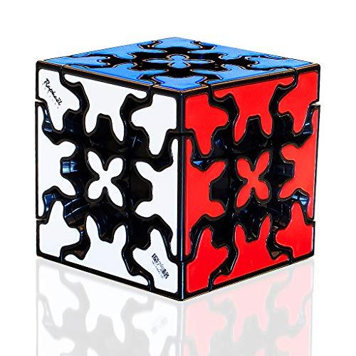 TOYESS Gear Cube 3x3 Stickerless, Cubo di Magico 3x3x3 Giocattolo Regalo Confezione per Bambini e Adulto