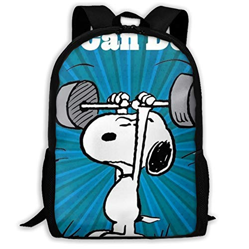 Designer You Can Do It Dibujo,You Can Do It,Weightlifting,Love Kids School Backpack for Girls Boys Lightweight Durable Middle Elementary Daypack Book Bag