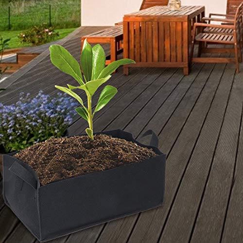 【𝐅𝐫𝐮𝐡𝐥𝐢𝐧𝐠 𝐕𝐞𝐫𝐤𝐚𝐮𝐟 𝐆𝐞𝐬𝐜𝐡𝐞𝐧𝐤】Großer Pflanzenanbaubeutel Korrosionsschutzpflanzenzuchtbehälter, Garten Gartenpflanze Blumengemüsepflanzung(Medium)