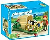 PLAYMOBIL - Ternero con Refugio, Set de Juego (5124)
