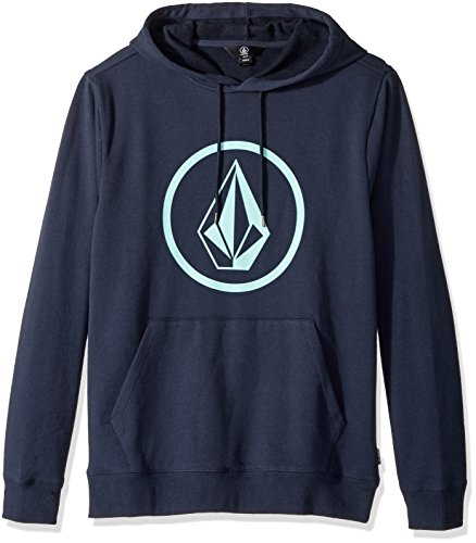 Volcom Men's Stone Pullover Fleece, Navy, M