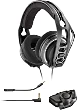 Plantronics Gaming Headset, RIG 400LX Gaming Headset for Xbox One with Prepaid Dolby Atmos Activation Code and LX1 Adapter Included