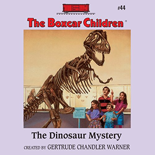 The Dinosaur Mystery audiobook cover art