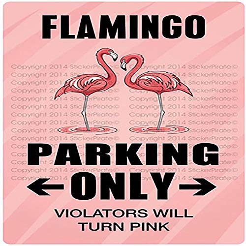 "JUMBO FILTER Flamingo Parking Only 8"" x 12"" Metal Novelty Sign Aluminum, The Best Martinis in Town, Flamingo Gift, Flamingo Lounge Sign, Beach Lounge Decor, Pink Lover Gift"
