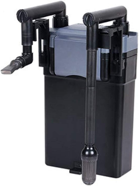 LIFUREN Fish tank filter Filter bucket External Wallmounted very silent 5layer filter box (color   1PCS, Size   190mm)