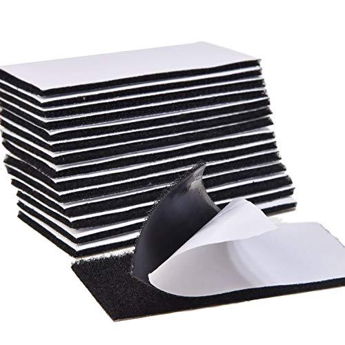 [Latuna] 面ファスナー 両面テープ パワフルピタクロ 超強力 5×10cm 15枚セット 防水 耐熱 防じん オス メス