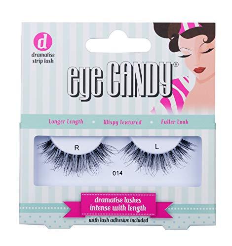 Eye Candy 014 Faux cils look naturel plein de volume, style 50's