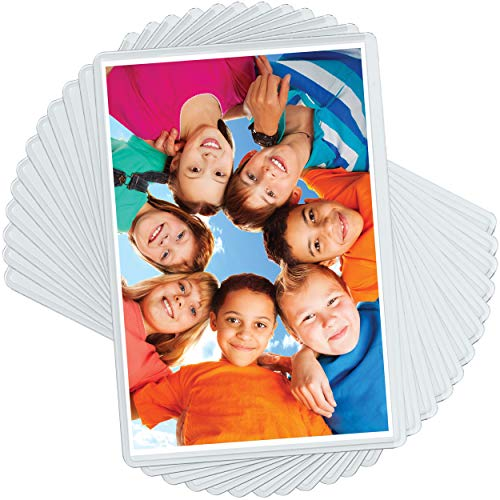 20 Pack 4x6 Magnetic Picture Frames for 4 X 6 Inch Photo Plastic Refrigerator Insert Holder Sleeve Pocket by Freeze-a-frame Made in The USA