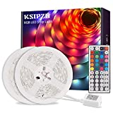 Ksipze LED Strip 10m RGB LED Lichterkette Streifen...