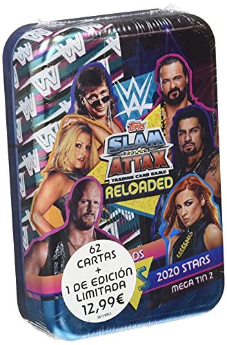 Topps WWE Slam Attax 13 Mega latas