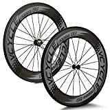 VCYCLE Road Bike Carbon Wheelset 700C 88mm Clincher for Shimano or Sram11 S