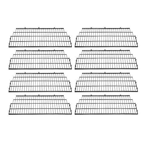 Suncast Vertical Storage Shed Organization Wire Shelf Rack Shelving (8 Pack)