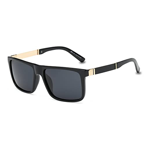 252c271541 DONNA Trendy Oversized Square Aviator Polarized Sunglasses Style with Big  Unbreakable Frame and Anti-glare