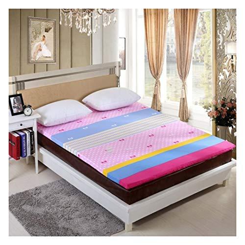 Ritsmatrasbeschermer Premium lakens, matrasbeschermer voor matras, 2-8 cm diep Tatami-matras, Futon matras, vloermatras