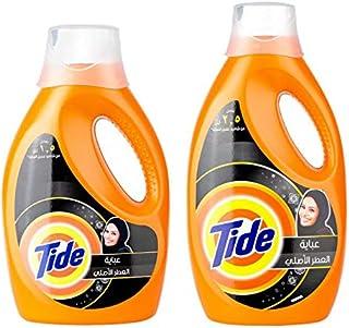 Tide LS Abaya Regular Liquid Detergent - Bundle of 2-Piece (1.85L, 1.05L)