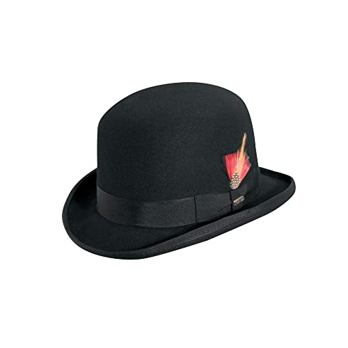 3784d0bef2b Scala Men s Wool Felt Derby Hat