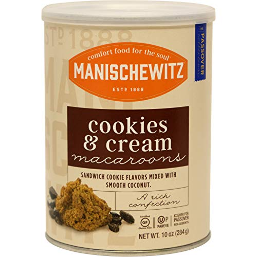 Manischewitz Cookies 'n Cream Macaroons