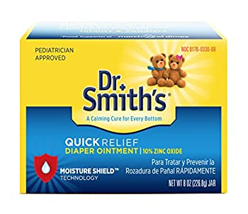 Dr Smiths Quick Relief Diaper Rash Ointment 8 ounce