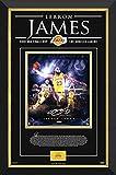 LeBron James LA Lakers Framed Collage Limited Edition /123 - Facsimile Signature