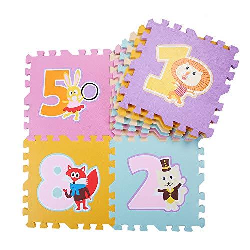 Números Estera Puzzle Juego, No Tóxico Niños Tapetes De Juegos, Grueso (0,5