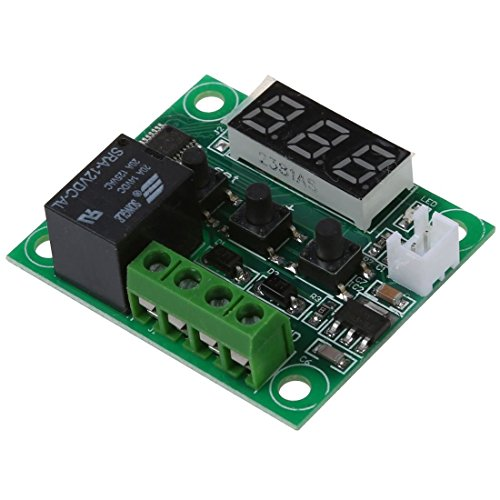 TOOGOO(R) DC 12V Temperatur Regler Thermostat Thermo Temperaturschalter Sensor -50-110¡ãC