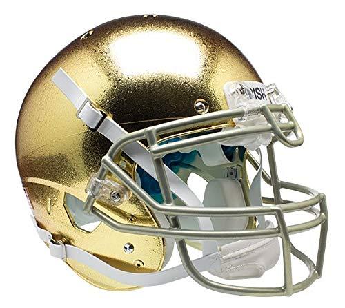 Schutt NCAA Notre Dame Fighting Irish On-Field Authentic XP Football Helmet, ALT 5