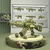 Mini Tudou Take Apart Toys Gun for Kids, Magnetic Multi Building Model Figure Play Gun with Sounds & Lights for Boys Girls Age 3 Years Old and Up