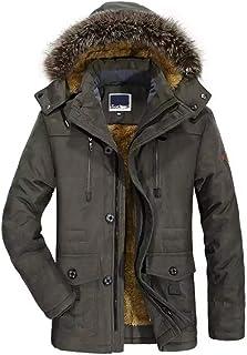 Cappotto Invernale Cappotto Men Casual Cappotto di transizione Transizione Bolf 4d4 MIX caldo