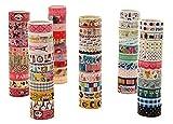 Lumanuby 3M Lot de 20 rouleaux de ruban adhésifs à motifs Idéal pour scrapbooking/...