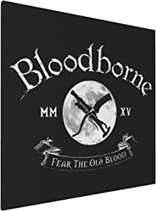 Canvas Prints Wall Art Paintings(20x20in) Bloodborne Crest Pictures Home Office Decor Framed Posters & Prints