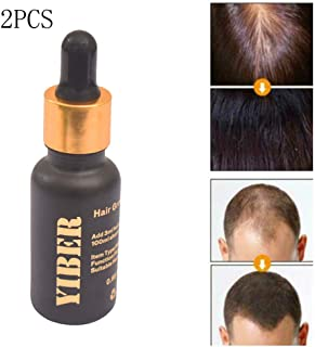 SEFROMAS 2Pcs Hair Growth Serum, Anti-Hair Loss Serum, Strengthen Hair Roots Thickening, Promote Hair Growth Regrowth Product for Men and Women