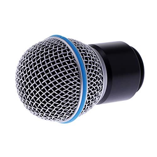 perfk Sustitución del Cartucho De Repuesto del Micrófono Inalámbrico para PGX2 SLX2 SM58