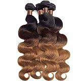 BLACKMOON HAIR Brazilian Virgin Ombre Hair Body...