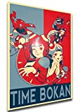 Instabuy Poster - LL0552 - Propaganda - Time Bokan -...