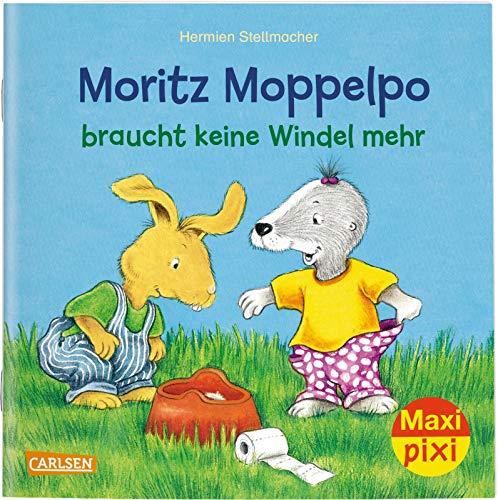 Maxi Pixi 291: VE 5: Moritz Moppelpo braucht keine Windel mehr (5x1 Exemplar) (291)