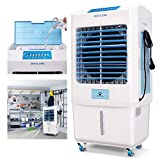 DUOLANG 2059 CFM Outdoor Indoor Portable Evaporative Cooler Swamp Cooler with Tower Fan & Air Conditioner &Humidifier&Blower for 323 Square Foot, DL-C3500