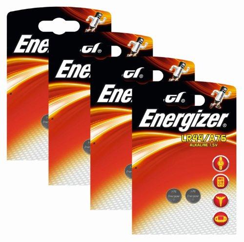 Energizer Original Spezialbatterie Alkali Mangan A 76 (1,5 Volt, 4x 2-er Pack)