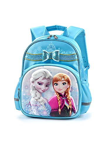 Disney(ディズニー)アナと雪の女王 エルサ アナ リュックサック ブルー キッズリュック 子供用リュック ...